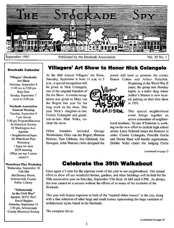 Stockade Sly September 1997 cover