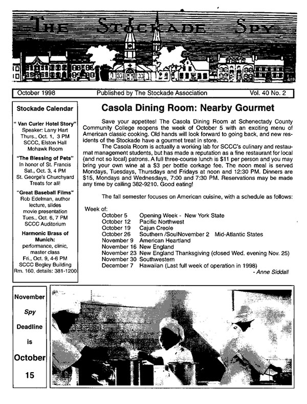 image of Stockade Spy October 1998