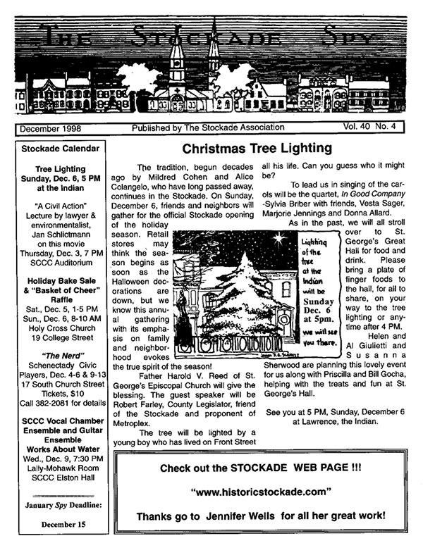 image of Stockade Spy December 1998