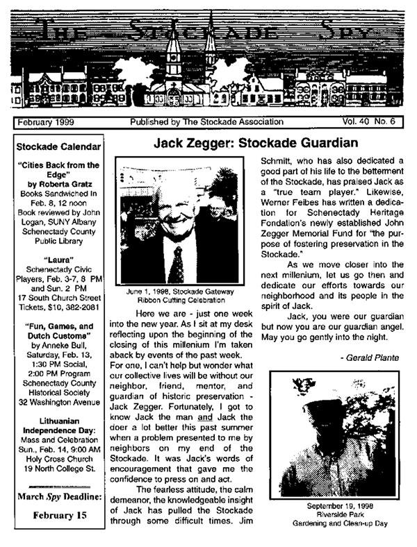image of Stockade Spy February 1999