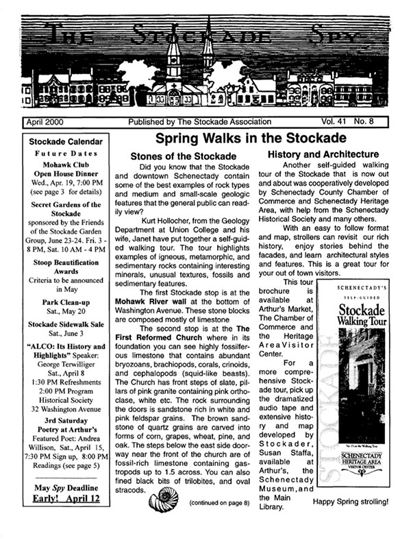 image of Stockade Spy April 2000