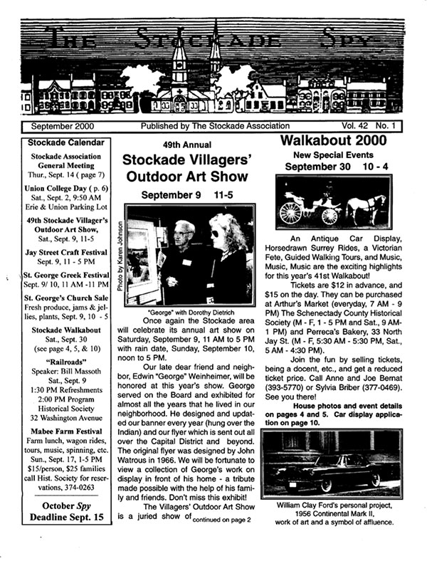 image of Stockade Spy September 2000