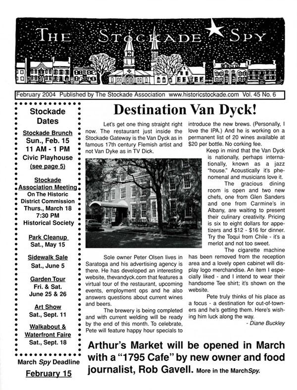 image of Stockade Spy February 2004