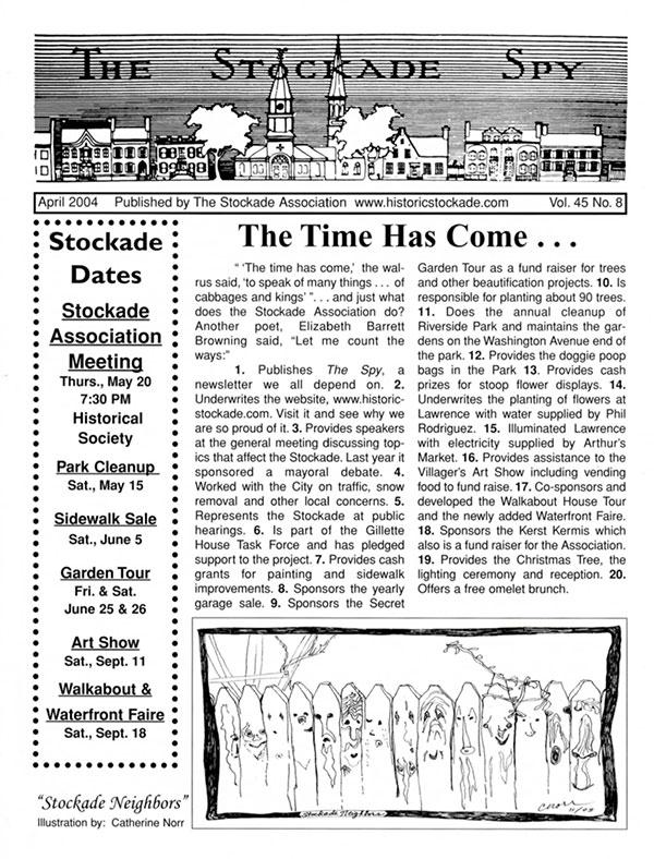 image of Stockade Spy April 2004