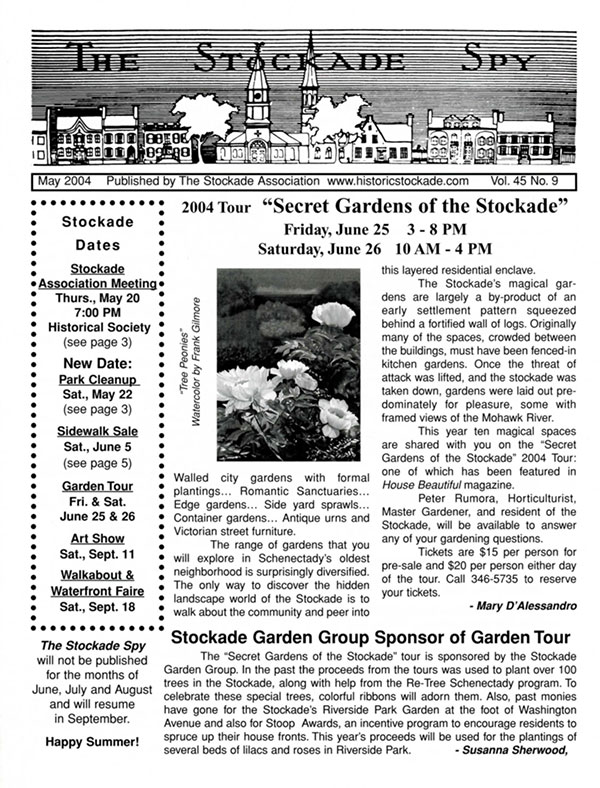 image of Stockade Spy May 2004