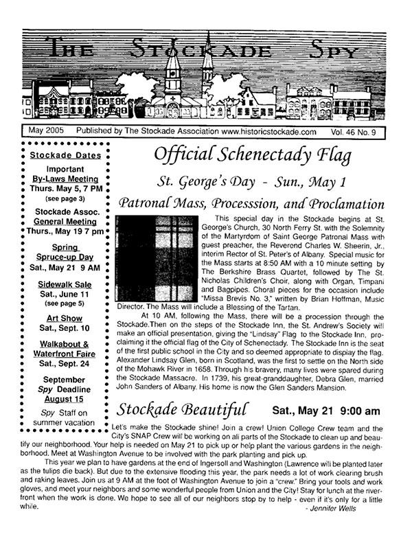 image of Stockade Spy May 2005