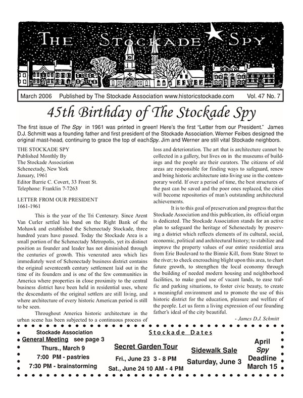 image of Stockade Spy March 2006