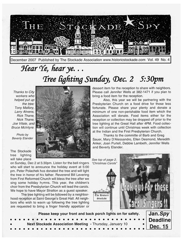 image of Stockade Spy December 2007