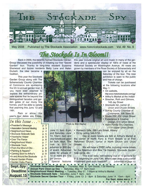 image of Stockade Spy May 2008