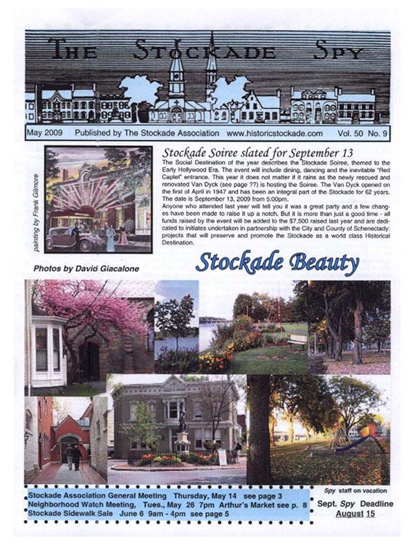Stockade Spy May 2009 cover
