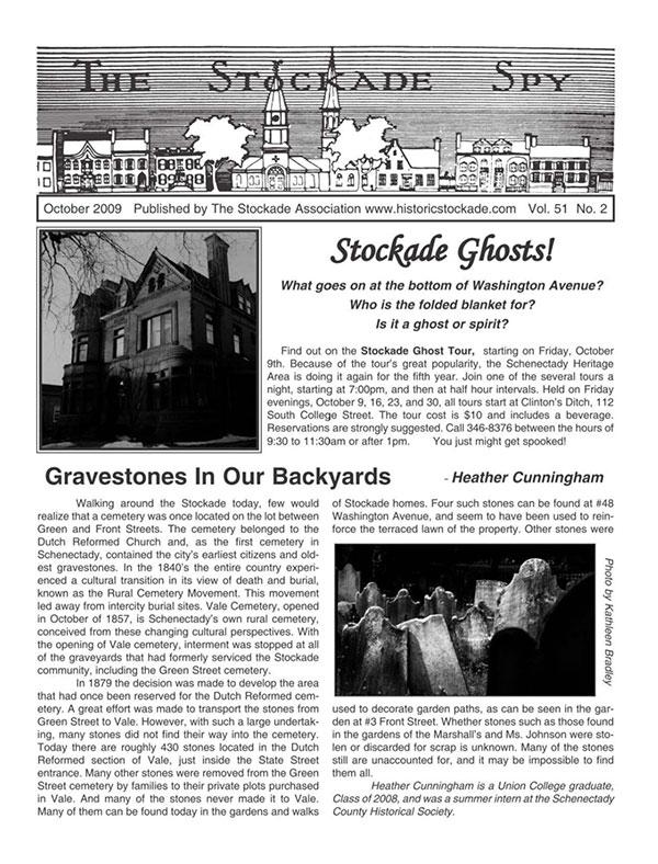 Stockade Spy October 2009 cover
