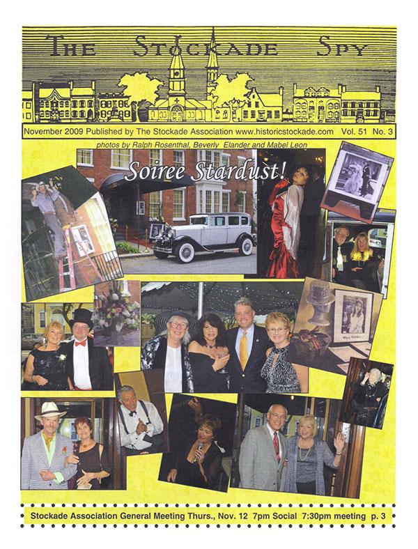 image of Stockade Spy November 2009