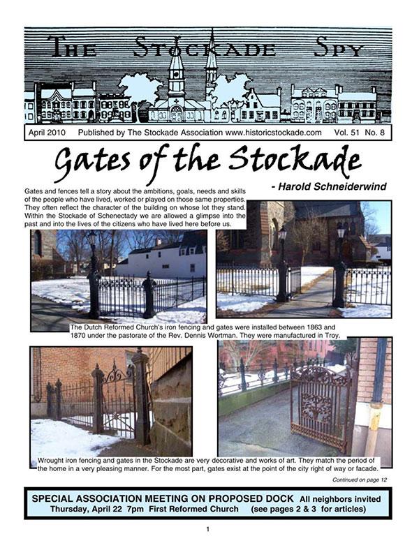 image of Stockade Spy April 2010