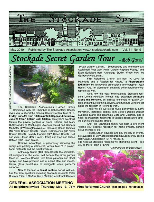image of Stockade Spy May 2010