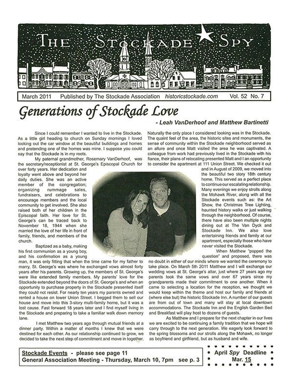 image of Stockade Spy March 2011