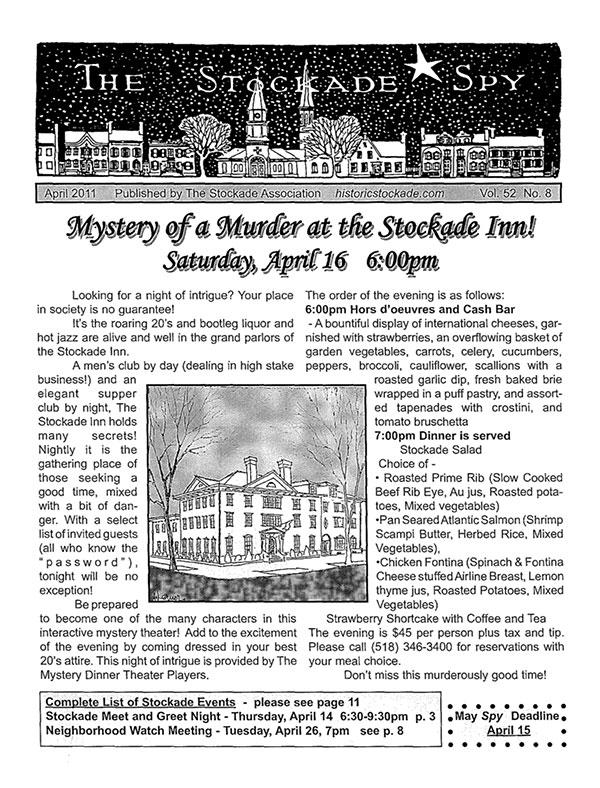 image of Stockade Spy April 2011