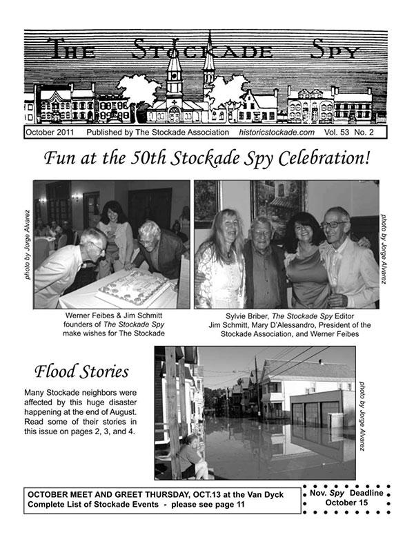 image of Stockade Spy October 2011