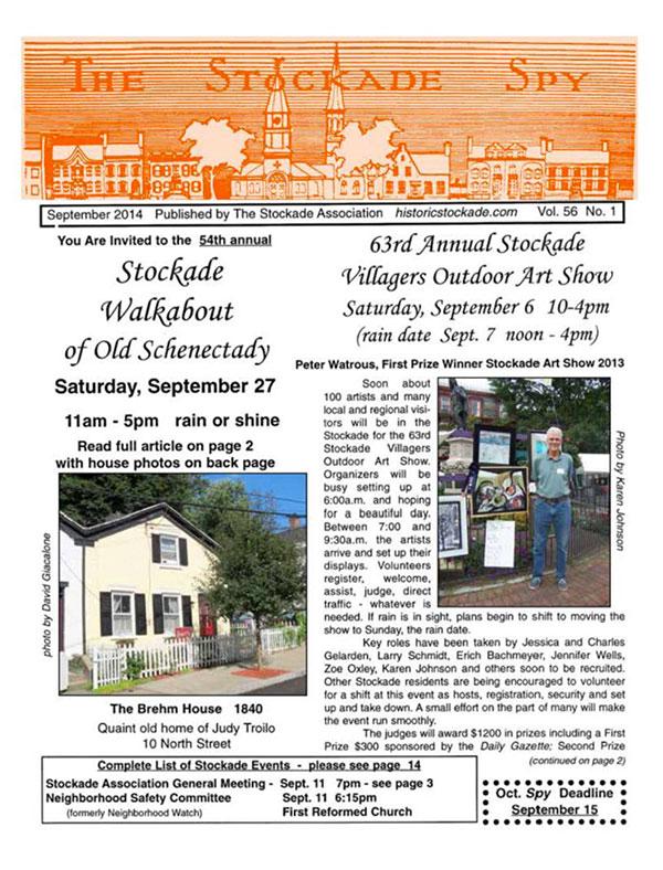 image of Stockade Spy September 2014