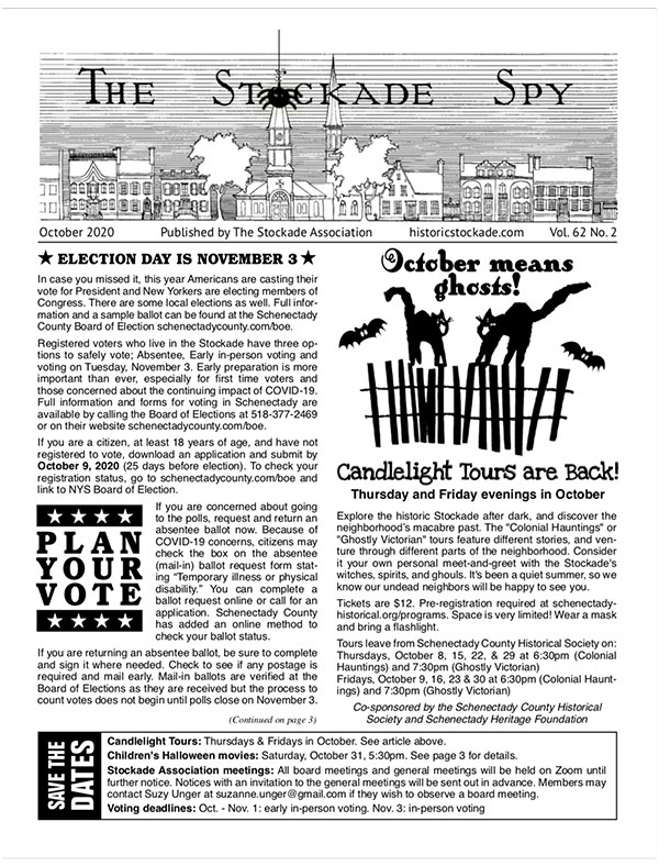 Stockade Spy October 2020 cover