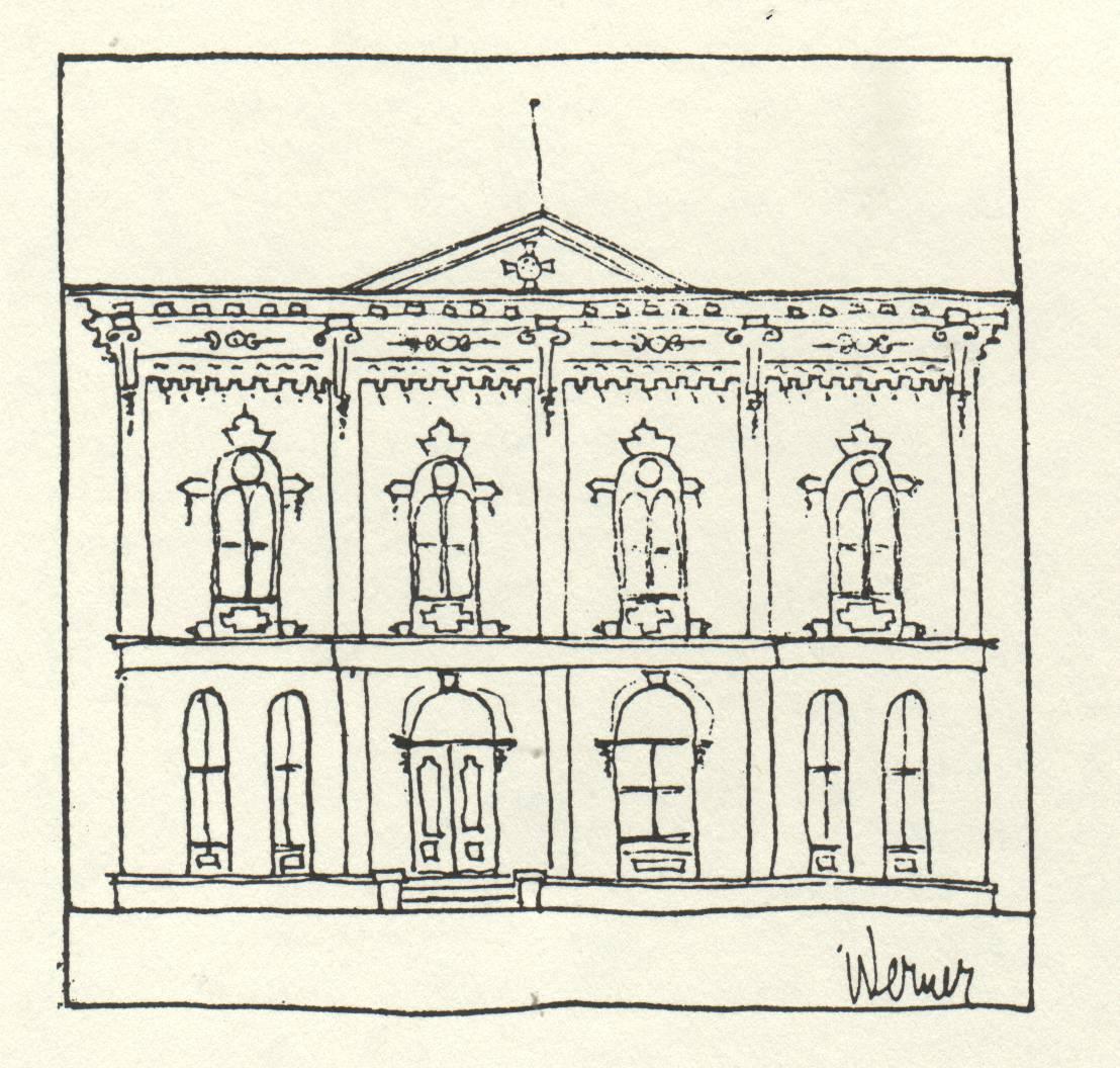ornate old large building