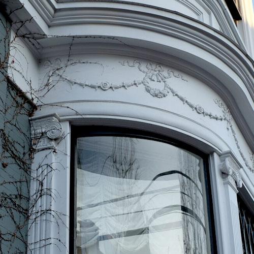Curved window