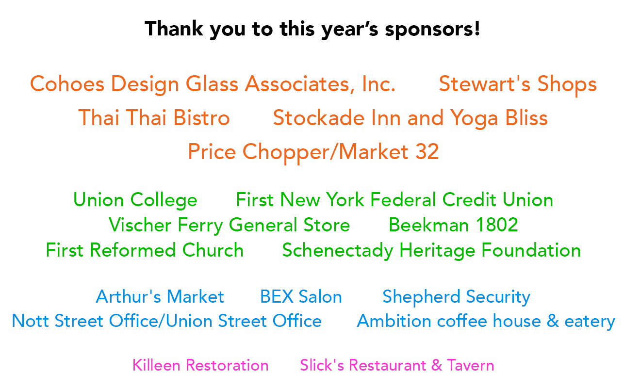 listing of corporate sponsors